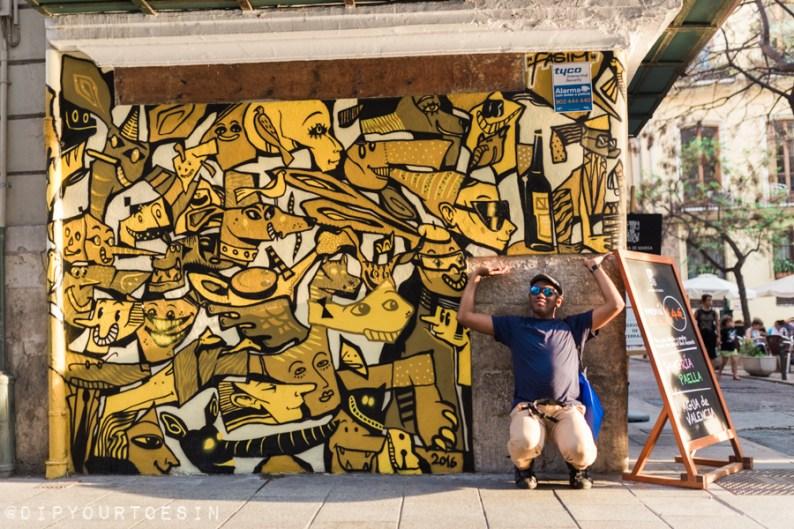 Disneylexya | Street Art | Valencia Urban Adventures