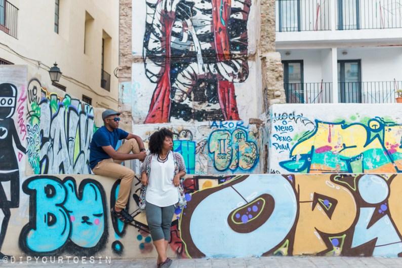 Walking Tour of Street Art in Valencia