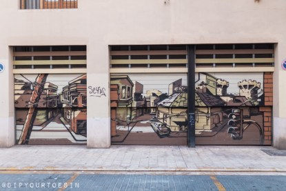 Walking Tour of Street Art in Valencia, Spain