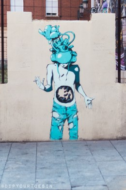 Deih | Walking Tour of Street Art in Valencia, Spain