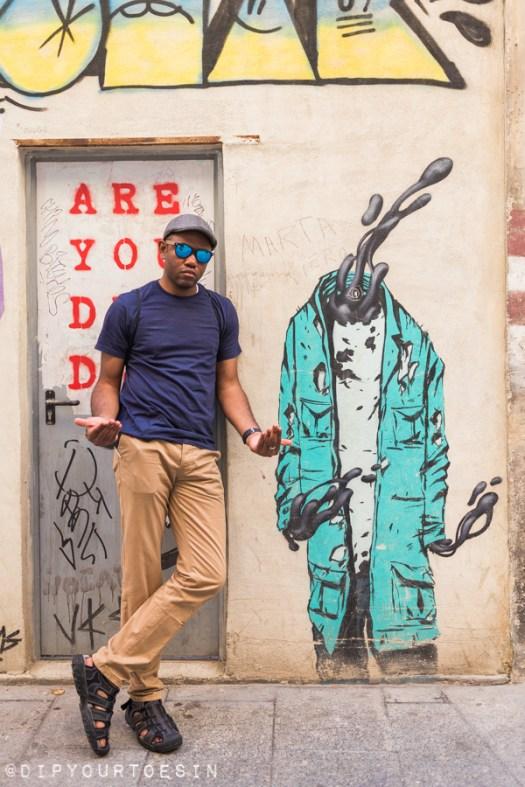 Deih | Walking Tour of Street Art in Valencia, Spain