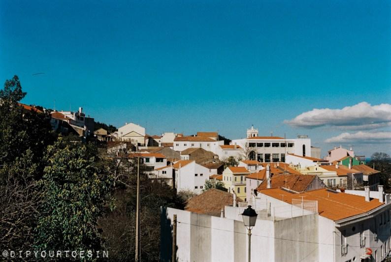 View of Caldas de Monchique town, Algarve, Portugal