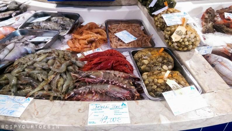 Visiting Mercado Municipal de Lagos, Algarve, Portugal
