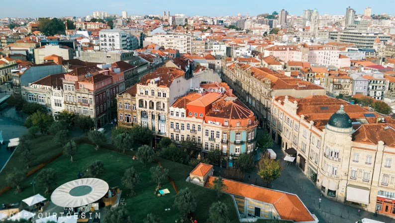 View from Igreja e Torre dos Clérigos | Why you should visit Porto, European Best Destination for 2017