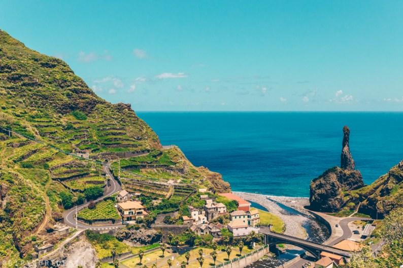Ribeira da Janela, North West coast of Madeira