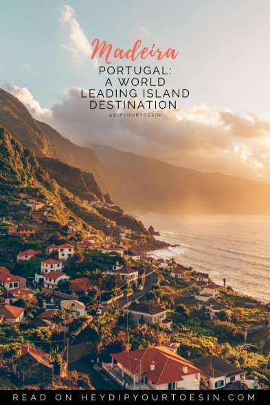 Book your tickets, and get ready to explore Madeira, Portugal: A World Leading Island Destination