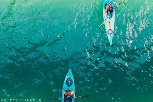 Kayakers on Chicago Riverwalk | Choose Chicago