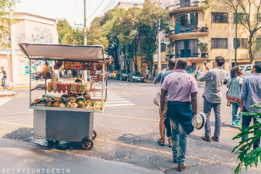 Street food, Mexico City   The City with the World's Best Tacos
