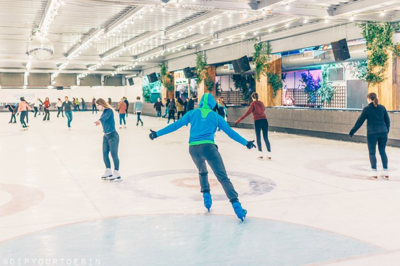 Dancing on Ice and Our Year of Yes | via @dipyourtoesin