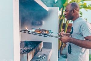 BBQ in Paphos, Cyprus