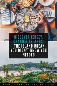 Jersey The Island Break #TheIslandBreak | Channel Islands
