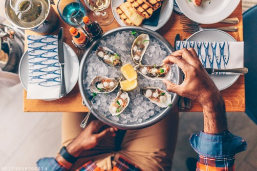Fresh Oysters at Oyster Box | Jersey The Island Break
