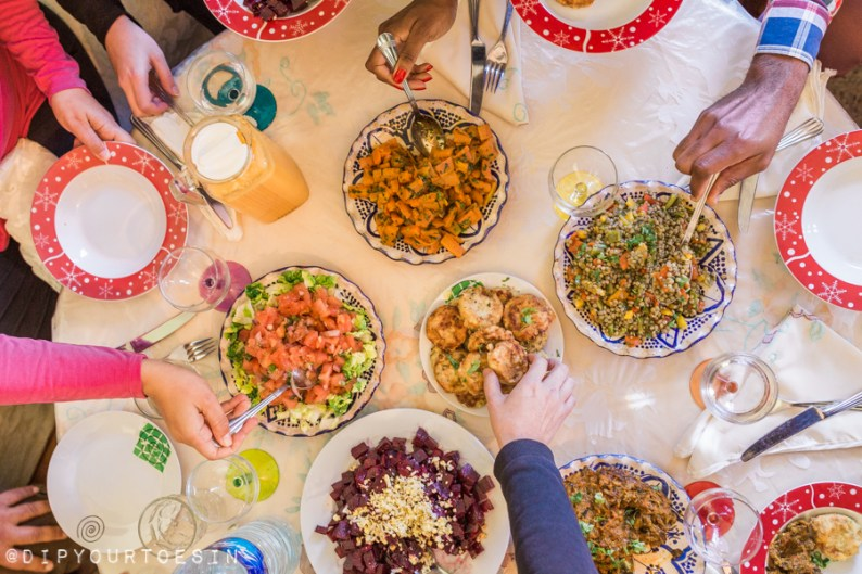 Sharing an African food experience