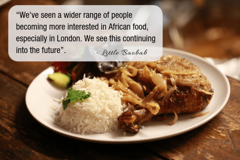 West African Food in London from Little Baobab