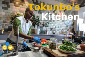 Tokunbo Koiki showing West African Food in London