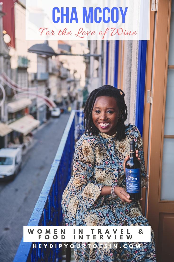 Cha McCoy, Black Female Sommelier, Wine Expert, Harlem, New York