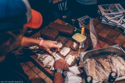 Food demonstration by Danish TV chef Brian Bojsen in Hamburg | Hamburg photo journal