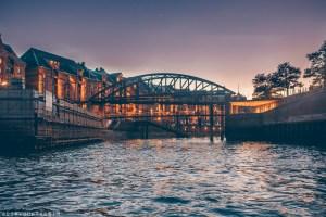 View of Speicherstadt, Hamburg from the river | Hamburg photo journal