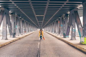 Hamburg photo journal | Walking the bridge at Oberhafen, Hamburg