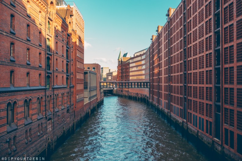 Warehouses in Speicherstadt, Hamburg UNESCO World Heritage Site