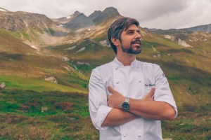 Sven Wassmer (Switzerland) at the Culinary Jakobsweg