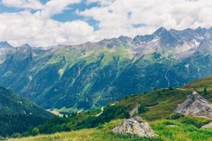 Paznaun Ischgl Valley, Austria