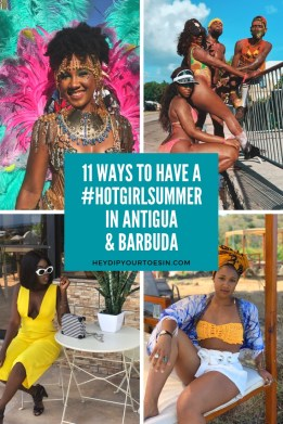 11 Ways to Have a #HotGirlSummer in Antigua