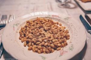 Fesols de Santa Pau, a local bean variety at Cal Sastre, Santa Pau