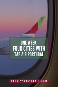 One Week Four Cities TAP Air Portugal Stopover - multi city