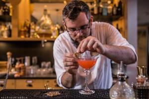 Barman making cocktails at The Botanist   Nature Hotel Forsthofgut   naturhotel Forsthofgut   Leogang