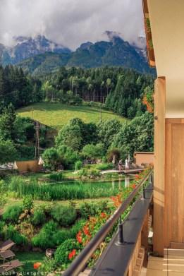 View from balcony at Bio-Hotel Rupertus, Leogang
