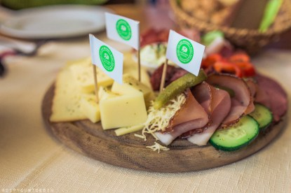 Organic local produce in Dorfladen, organic farm cafe with local produce in Leogang, Austria