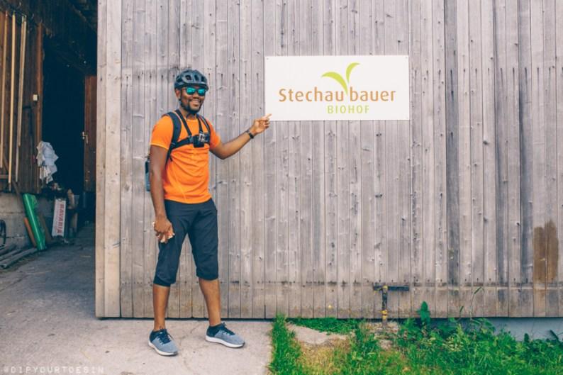 Michaela Haitzmann   Biohof Stechaubauer   Organic Farmers   Cycling in Leogang, Austria