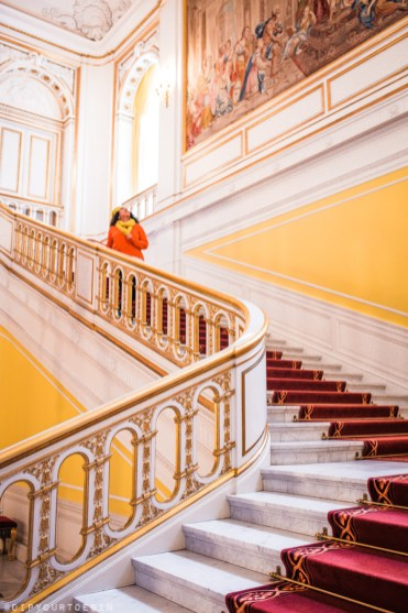 Grand staircase at Charlottenborg Palace | Visit Copenhagen