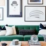 Boho Style The Green Velvet Sofa 20 Stylish Options Hey Djangles