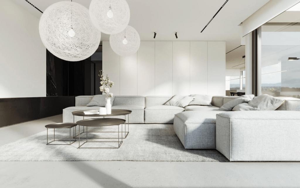 HOW TO CREATE A SLEEK YET PRACTICAL MODERN MINIMALIST ... on Minimalist Living Room  id=76439