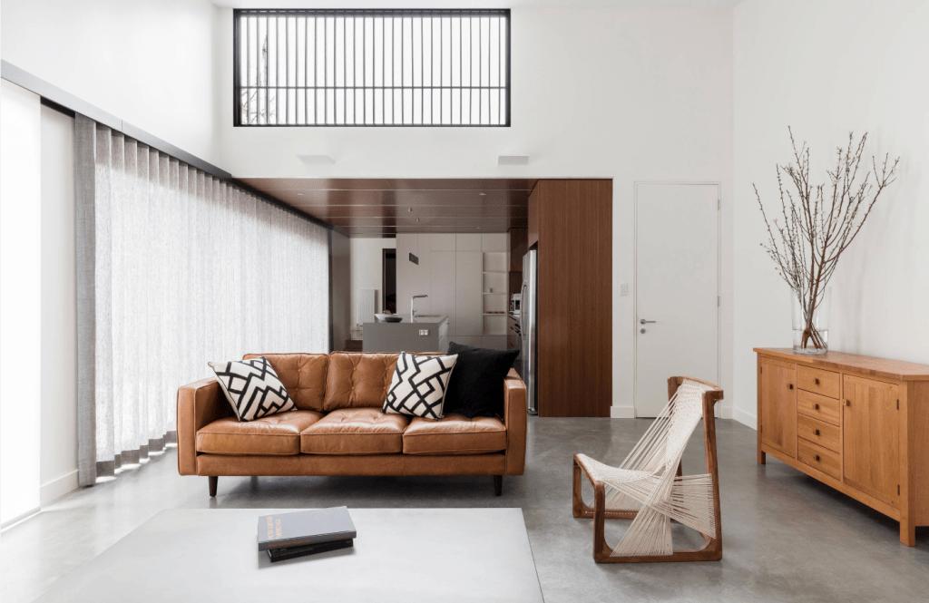 HOW TO CREATE A SLEEK YET PRACTICAL MODERN MINIMALIST ... on Minimalist Living Room  id=42098
