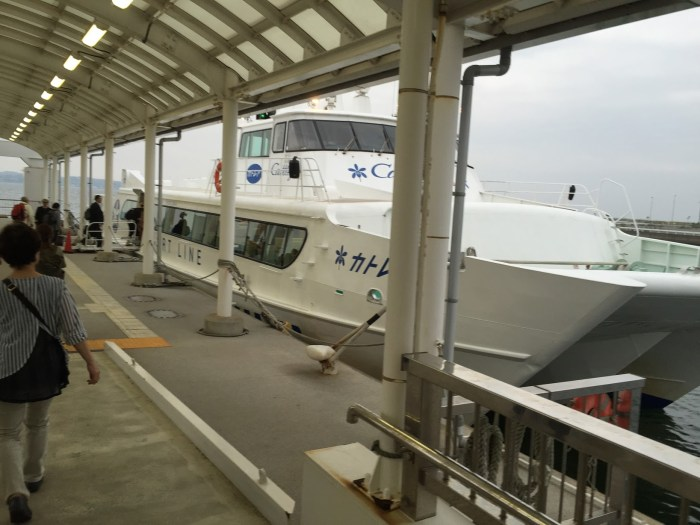 boat transit.