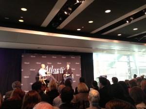 the atlantic editor james bennet interviewed mark zuckerberg.