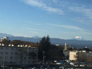 Mt. Fuji from Yokota Airbase