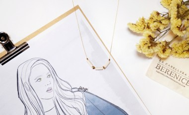 LA CABELLERA DE BERENICE (Spanish Jewelry Brand) / Illustration