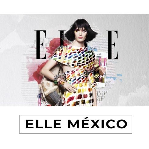 Collage for digital promotion purposes (escuela de moda)