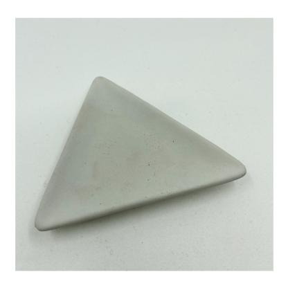 Charcoal Triangle Dish