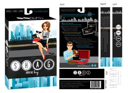 SHAG Full Packaging Design