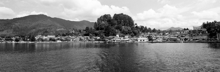 Parapat, seen from the boat