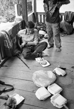 Lunch at Karangan basecamp