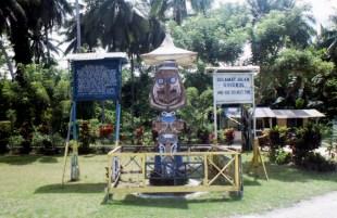 Marau beach entrance