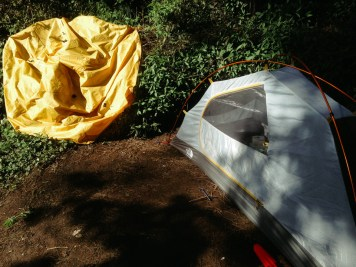 Drying out my tent