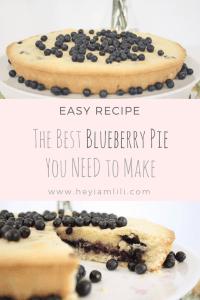 easy recipe, berry recipes, pie recipes, dessert, blueberry pie organic fruits, blueberry, homemade, cake