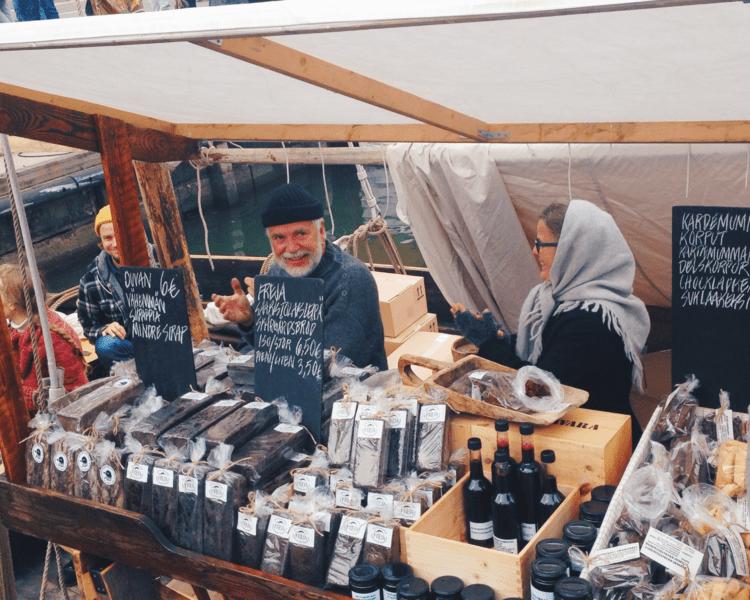 Dicas Outono Helsinki Finlândia, Ruska Suomi, Autumn Tips Helsinki Finland, Herring Market